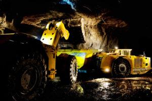 Broson Wheels –in Garpenberg Mine, Sweden Gruvmaskiner