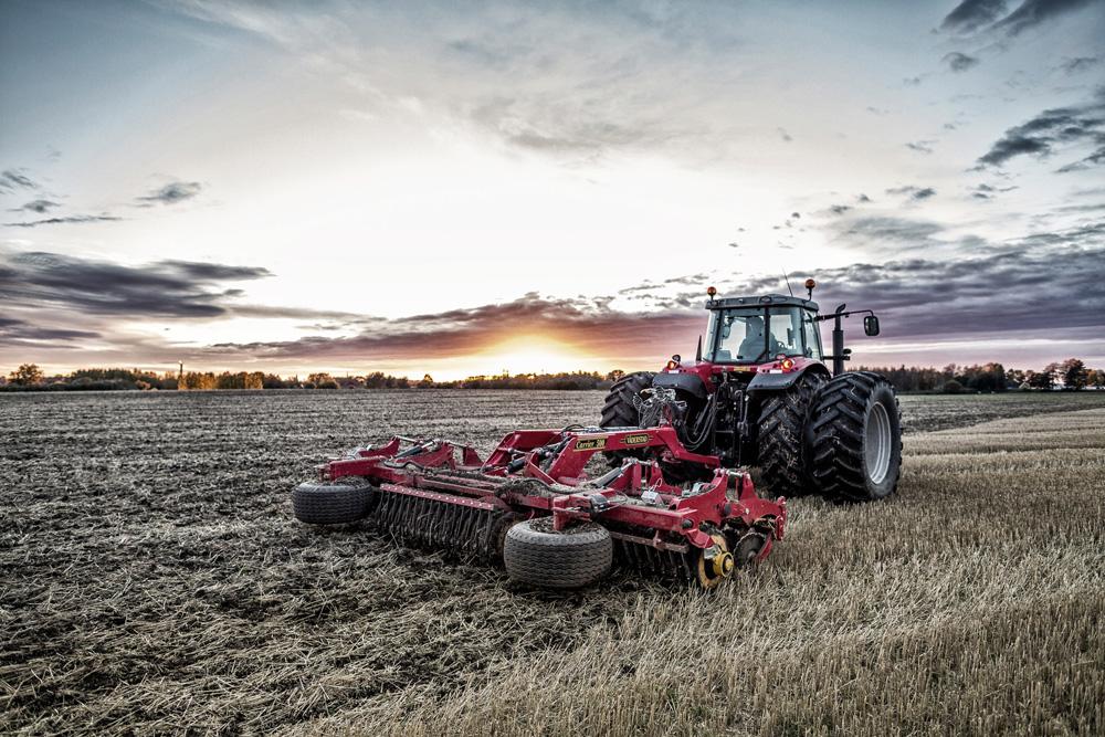 Broson Wheels –Bild på lantbruksmaskiner