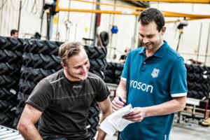 Broson Wheels –Samtal om senaste ordern på lagret