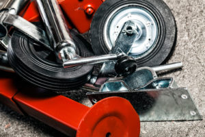 Broson Wheels –Stödeben och stödhjul