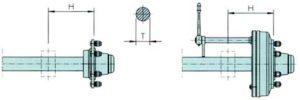 Broson Wheels – Bromsand rund Axeltapp